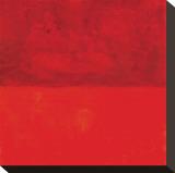 Marilyn Crimson Bedruckte aufgespannte Leinwand von Carmine Thorner
