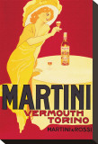 Martini and Rossi, Vermouth Torino Stretched Canvas Print