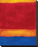 Fugue by Leonardo II キャンバスプリント : カーマイン・トーナー