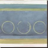 Rings I Bedruckte aufgespannte Leinwand von Felix Latsch