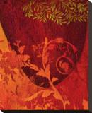 Georgia Cochineal I Bedruckte aufgespannte Leinwand von Michael Timmons