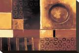 Mucha Java Bedruckte aufgespannte Leinwand von Stefan Greenfield