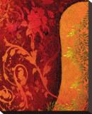 Georgia Cochineal II Bedruckte aufgespannte Leinwand von Michael Timmons