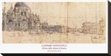 Church, Venice Bedruckte aufgespannte Leinwand von Giuseppe Vanvitelli