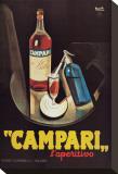 Campari l'Aperitivo Stretched Canvas Print