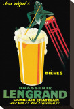 Brasserie Lengrand Stretched Canvas Print