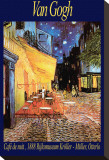 The Café Terrace on the Place du Forum, Arles, at Night, c.1888 Stretched Canvas Print by Vincent van Gogh