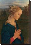 Vergine in Adorazione, c.1406-1469 Opspændt lærredstryk af Fra Filippo Lippi