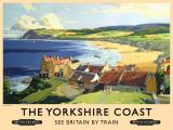 Yorkshire Coast Tin Sign