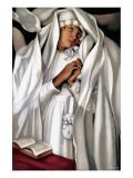 La Communiante Premium Giclee Print by Tamara de Lempicka