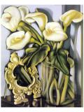 Arums III Premium Giclee-trykk av Tamara de Lempicka