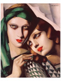 Le Vert Jade Premium Giclee-trykk av Tamara de Lempicka