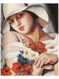 En Plein Ete Premium Giclee-trykk av Tamara de Lempicka
