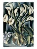 Arums I Premium Giclee-trykk av Tamara de Lempicka