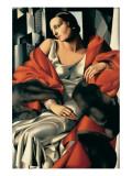 Portrait de Madame Boucard Premium Giclee Print by Tamara de Lempicka