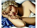 Dormeuse Exklusivt gicléetryck av Tamara de Lempicka