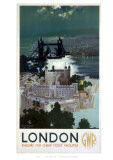 London by GWR Giclee Print