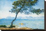 Antibes, c.1888 Toile tendue sur châssis par Claude Monet
