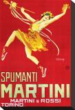 Martini and Rossi, Spumanti Martini Trykk på strukket lerret