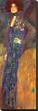 Emilie Floege Reproducción de lámina sobre lienzo por Gustav Klimt