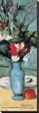 Blue Vase (detail) Bedruckte aufgespannte Leinwand von Paul Cézanne