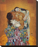 The Family Stretched Canvas Print by Gustav Klimt