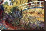 Le Pont Japonais Impressão em tela esticada por Claude Monet