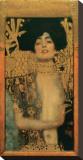Judith I, c.1901 Reproducción de lámina sobre lienzo por Gustav Klimt