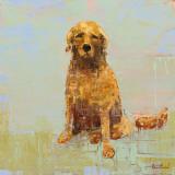 Golden Dog No. 2 Plakater af Rebecca Kinkead
