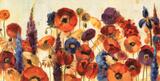 Froher Garten Poster von Silvia Vassileva
