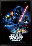 Stars Wars Trilogy- The Empire Strikes Back Print