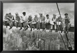 Stålarbejdere på Manhattan Poster