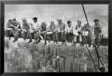 Trabajadores siderúrgicos de Manhattan Póster