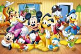 Personaggi della Disney Poster