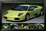 Lamborghini Murciélago Poster