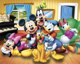 Micky Maus und Freunde Kunstdruck