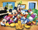 Disney, gruppbild Planscher