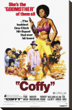 Coffy Stretched Canvas Print