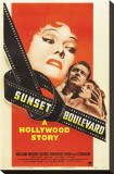 Sunset Blvd Stretched Canvas Print