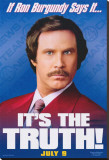 Anchorman: The Legend of Ron Burgundy Stretched Canvas Print