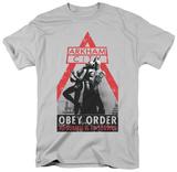 Batman Arkham City - Obey Order T-shirts