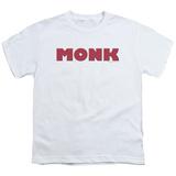 Youth: Monk - Monk Logo T-shirts
