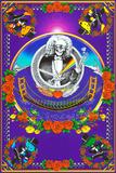 Deadheads Over The Golden Gate (Blacklight Poster - No Flocking) Plakater