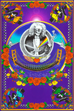 Deadheads Over The Golden Gate (Blacklight Poster - No Flocking) Poster