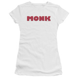 Juniors: Monk - Monk Logo T-shirts