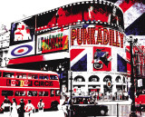 London Circus Art by  Le Markee