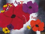 Art Poppies Plakat af Aurélie Pfaadt