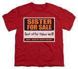 Youth: Sister for Sale T-Shirt