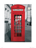 London Telephone Box Kunstdrucke