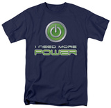 More Power T-shirts